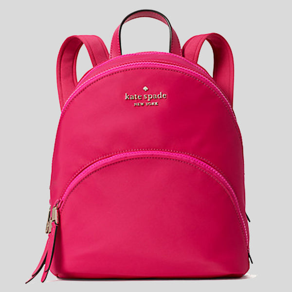 Kate Spade Karissa Nylon Medium Backpack wkru6586 Bright Magnta