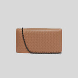 Bottega Veneta Wallet On Chain Dahlia 586906