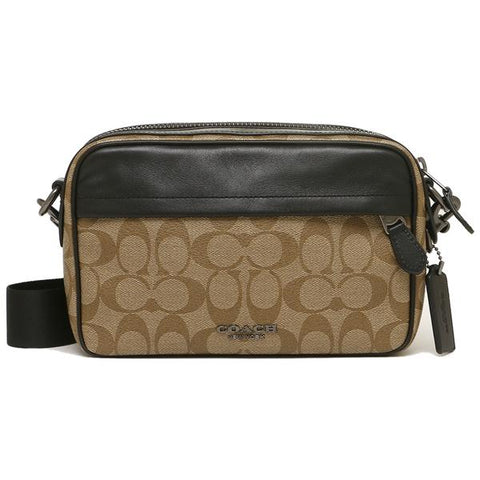 Coach Graham Crossbody In Signature Canvas Tan