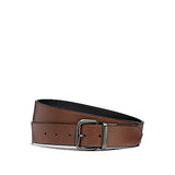 COACH Men's Dapped Coach Roller Cut-To-Size Reversible Belt (F38727) Saddle