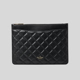 Kate Spade Natalia Large Zip Pouch/Clutch WLR00258 Black