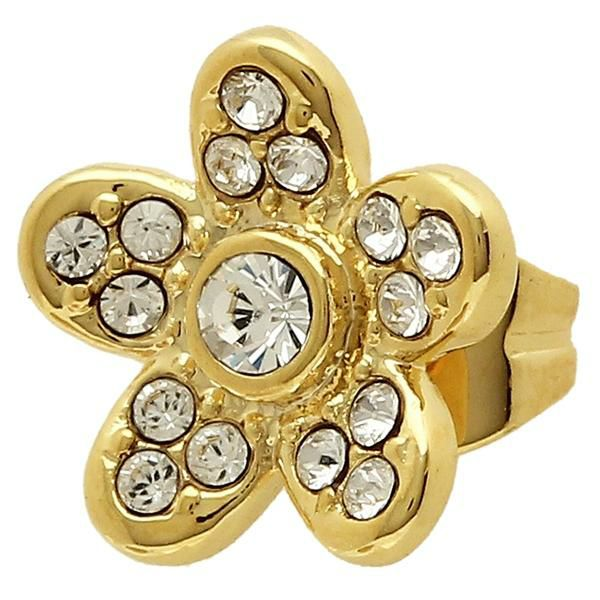 Marc Jacobs Flower Studs Earring Gold M0012401