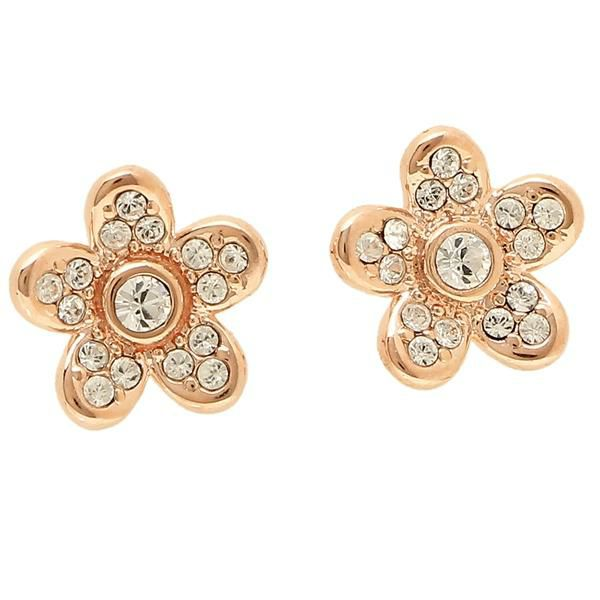 Marc Jacobs Flower Studs Earring Rose Gold M0012401