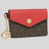Michael Kors Kala small Card Holder With Key Ring 35F0GW9D1B Flame
