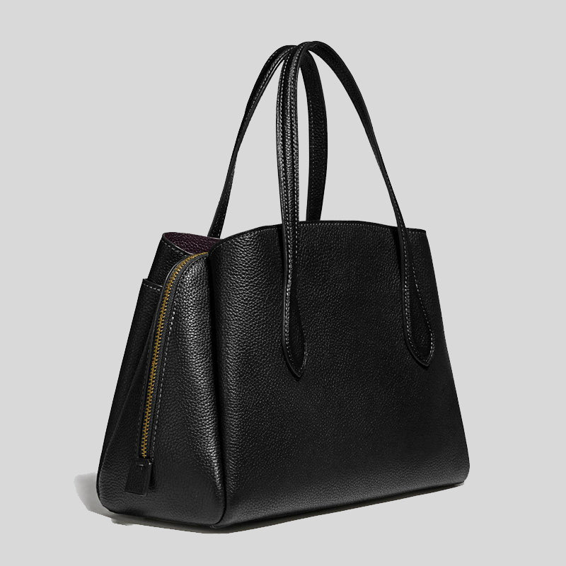 Coach Lora Carryall 30 Tote Bag 91740 Black