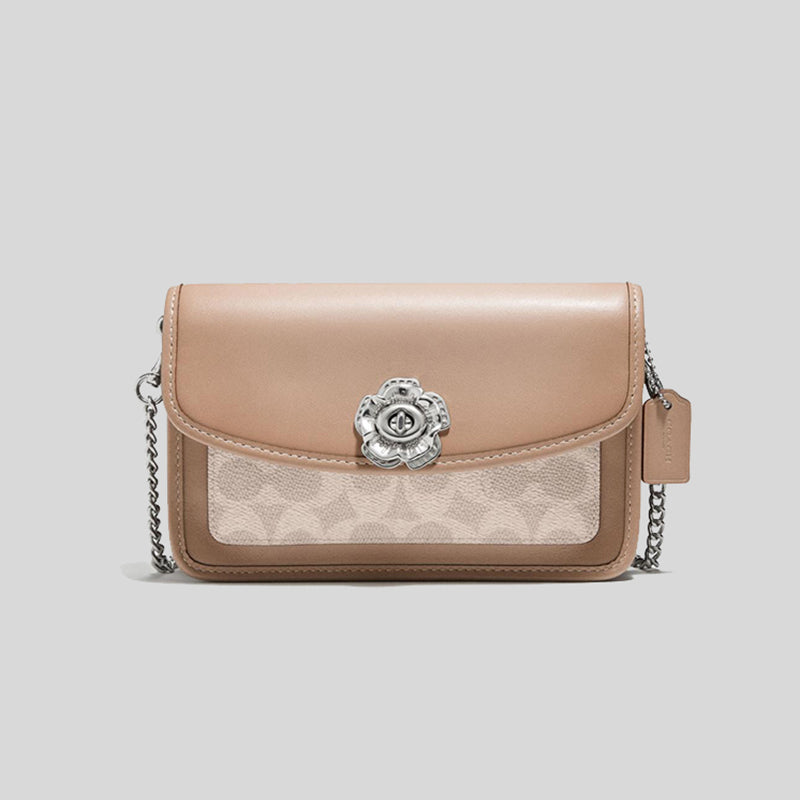 Coach Parker Crossbody In Signature Canvas 89289