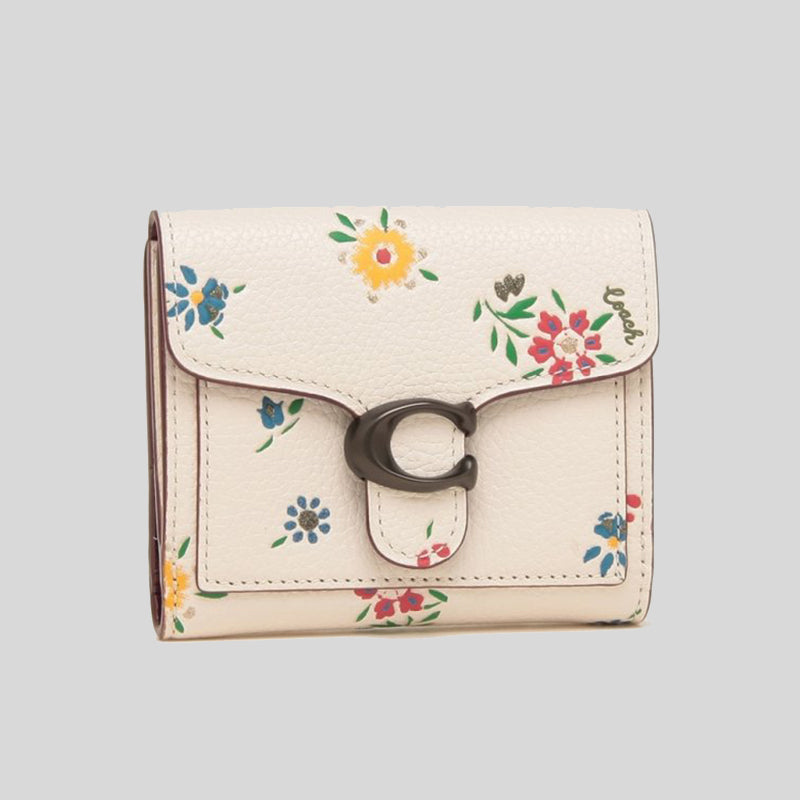 Coach Tabby Small Wallet With Wildflower Print 1364