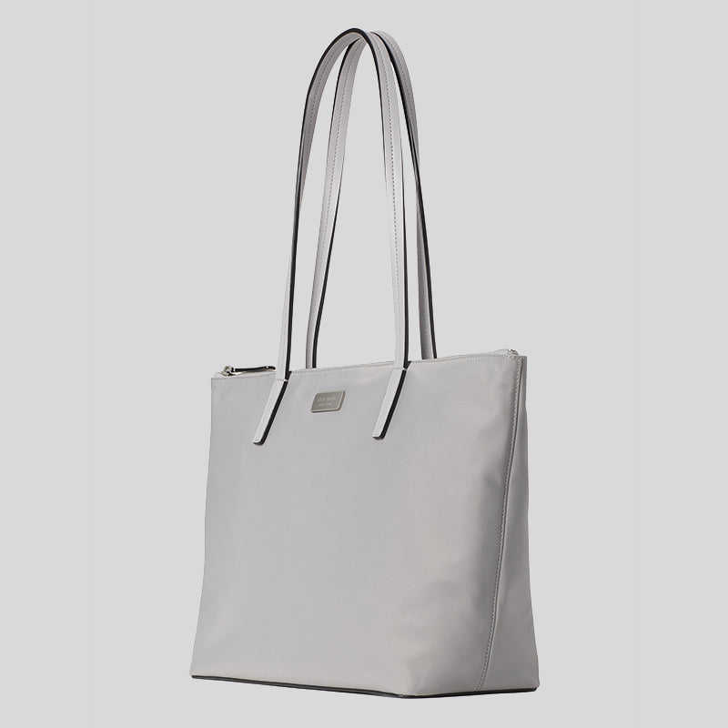 Kate Spade Hayden Top Zip Tote Nimbus Grey