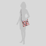 Kate Spade Jackson Tropical Toss Top Zip Crossbody Bag WKRU6768