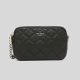 Kate Spade Natalia Double Zip Small Crossbody Black wlru6341