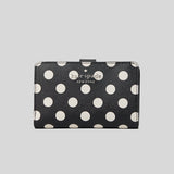 Kate Spade Staci Picture Dot Medium Compact Bifold Wallet WLR00100