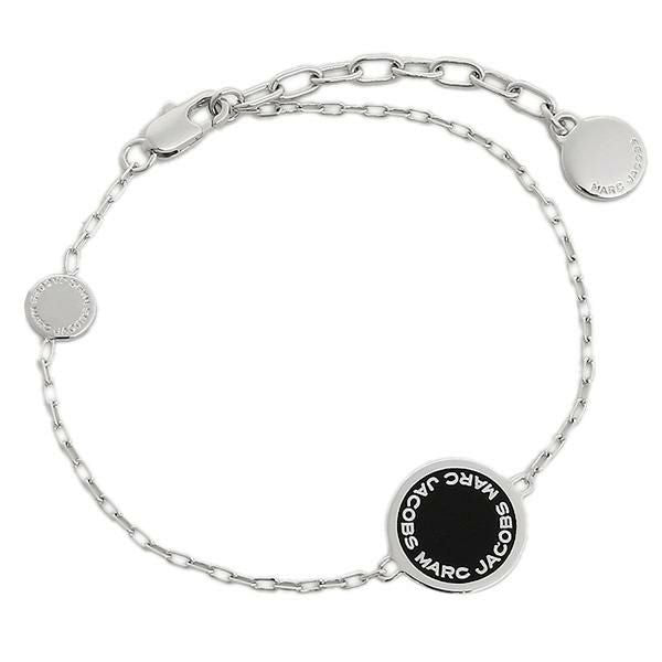 Marc Jacobs Disc Bracelet M0008540 Silver Black