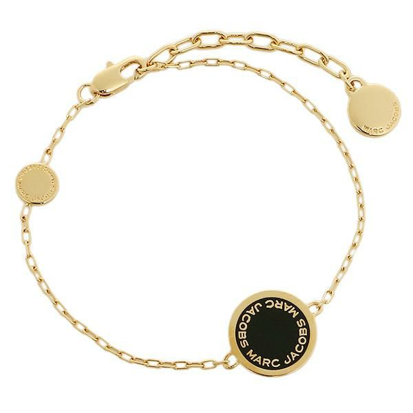 Marc Jacobs Disc Bracelet M0008540 Gold Black