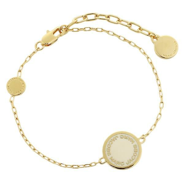 Marc Jacobs Disc Bracelet M0008540 Gold Cream