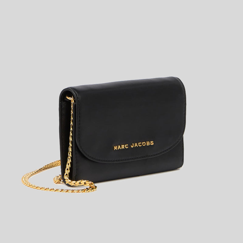 Marc Jacobs Avenue Wallet Crossbody Bag Black M0016105