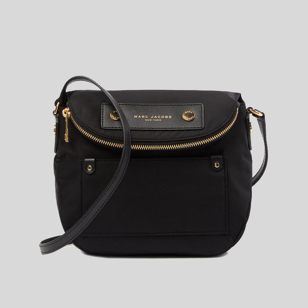 Marc Jacobs Preppy Nylon Mini Natasha Crossbody Bag Black lussocitta lusso citta