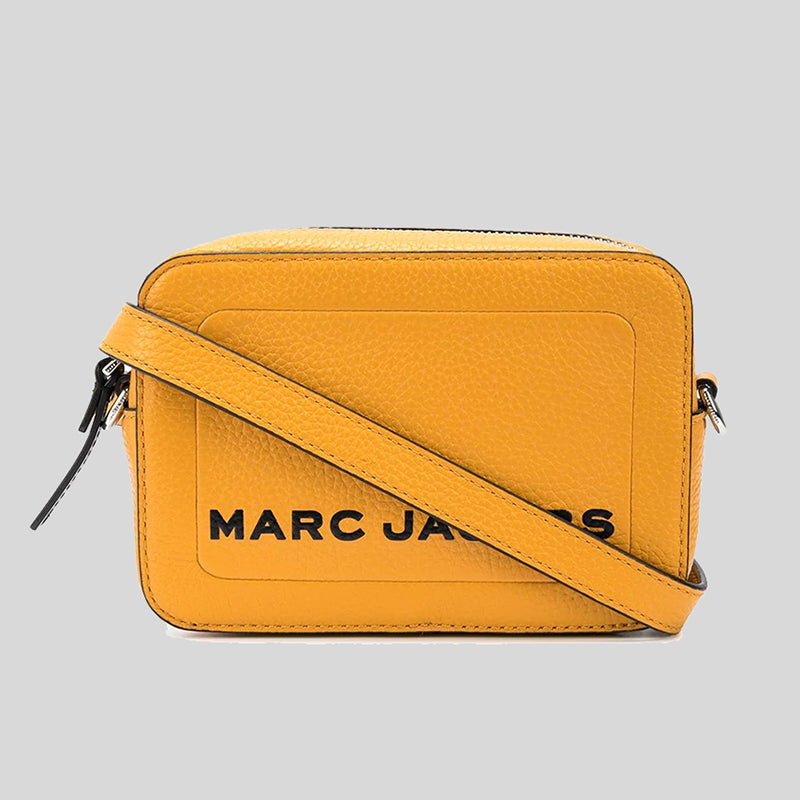 Marc Jacobs The Box Crossbody Bag M0015765 Golden Poppy