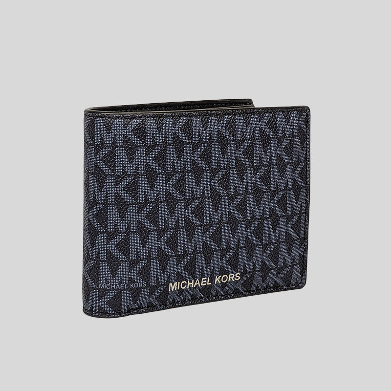 Michael Kors Cooper Billfold Wallet With Passcase PL Blue 36U9LCRF6B