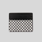 Michael Kors Cooper Tall Card Case Black White 36F0MCOD2O