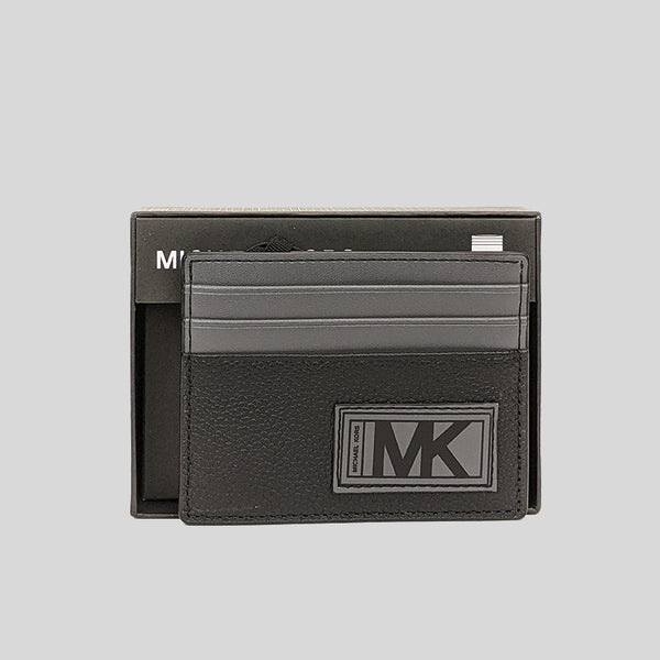 Michael Kors Gifting Leather Tall Card Case In Box 36U0LGFY1L Black