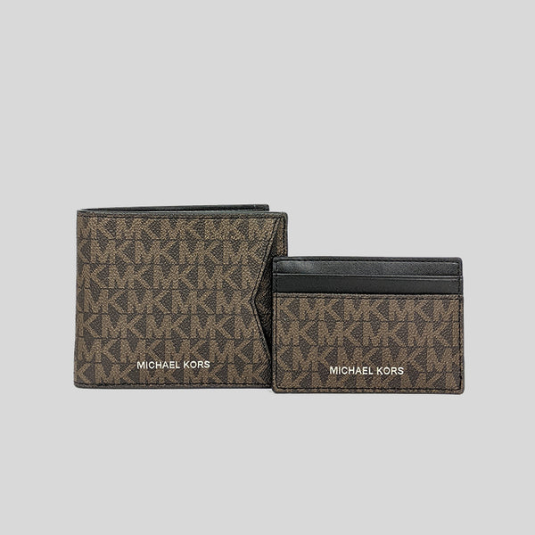 Michael Kors Gifting Billfold wallet with Card Case Box Set