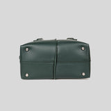 Tod's D-Styling Bauletto Mini Satchel Crossbody Bag Deep Green