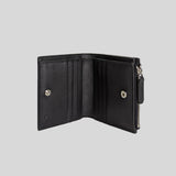 Gucci Micro GG Guccissima Leather Small Bifold Wallet Black 544475