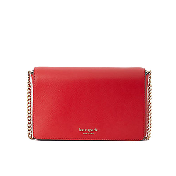 Kate Spade Spencer Chain Wallet Crossbody Hot Chilli