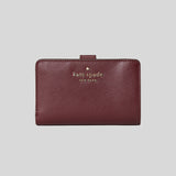 Kate Spade Staci Medium Compact Bifold Wallet WLR00128 CherryWood