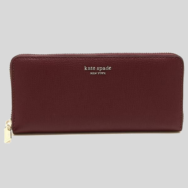 Kate Spade Sylvia Slim Continental Wallet CherryWood PWRU7774