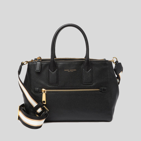 Marc Jacobs Gotham East/West Leather Tote Bag Black M0015466