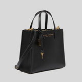Marc Jacobs Mini Grind Coated Leather Tote Black M0015685