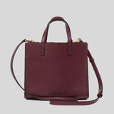 Marc Jacobs Mini Grind Coated Leather Tote Shiraz M0015685