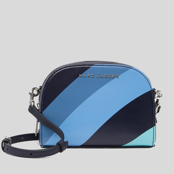 Marc Jacobs Playback Wave Leather Crossbody Bag Blue Multi M0016244
