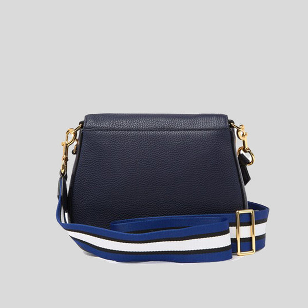Marc Jacobs Small Nomad Gotham Leather Crossbody Bag Navy M0015467