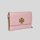 Tory Burch Britten Chain Wallet 67296 Surprise Lily