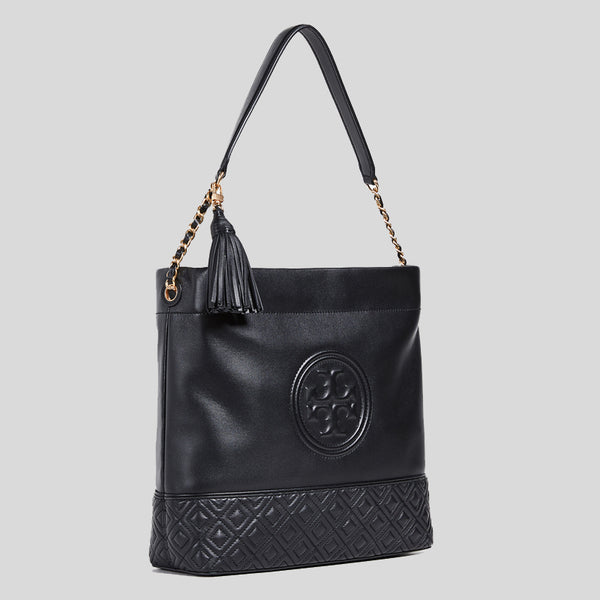 Tory Burch Fleming Hobo Bag Black 53992