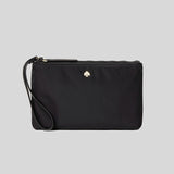 Kate Spade Jae Medium Double Zip Wristlet Black wlru5943