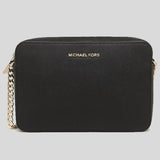 Michael Kors Jet Set Item Crossbody Bag Black 35T8GTTC9L