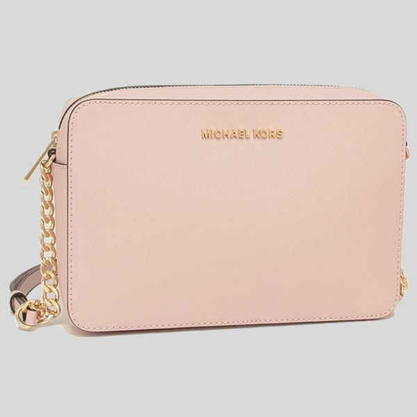 Michael Kors Jet Set Item Crossbody Bag Powder Blush 35T8GTTC9L