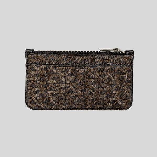 Michael Kors Gifting Long Zip Wallet 36S0LGFE6B Brown Black