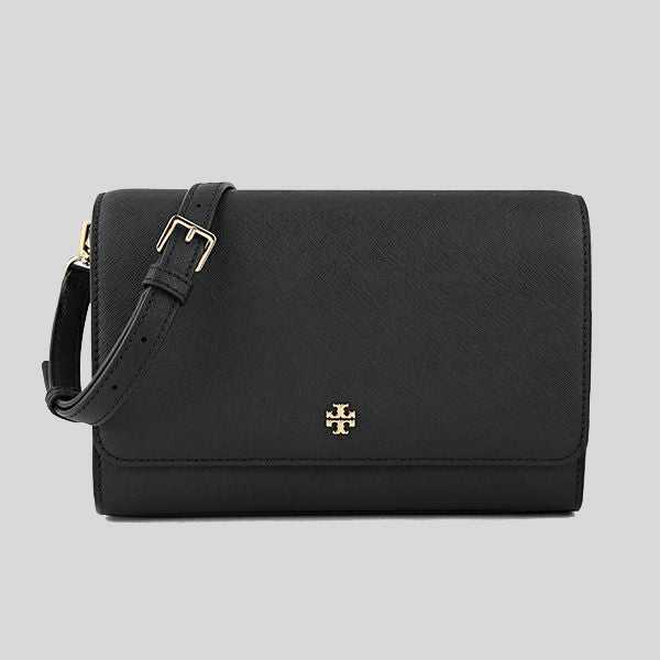 Tory Burch Emerson Combo Crossbody Bag 78603 Black