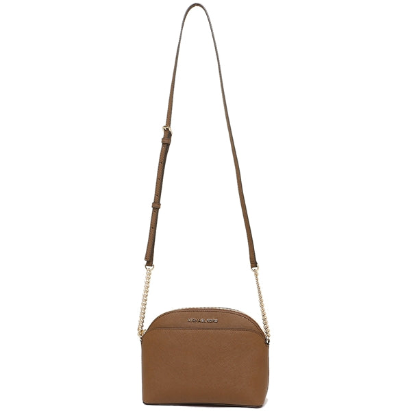 Michael Kors Jet Set Travel Medium Dome Crossbody Bag Luggage