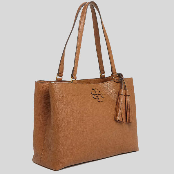 Tory Burch McGraw Triple Compartment Tote Moose 54298