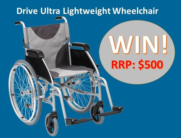 **WIN** Drive Ultra Lightweight Wheelchair