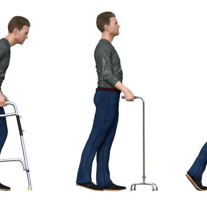 man mobility aids