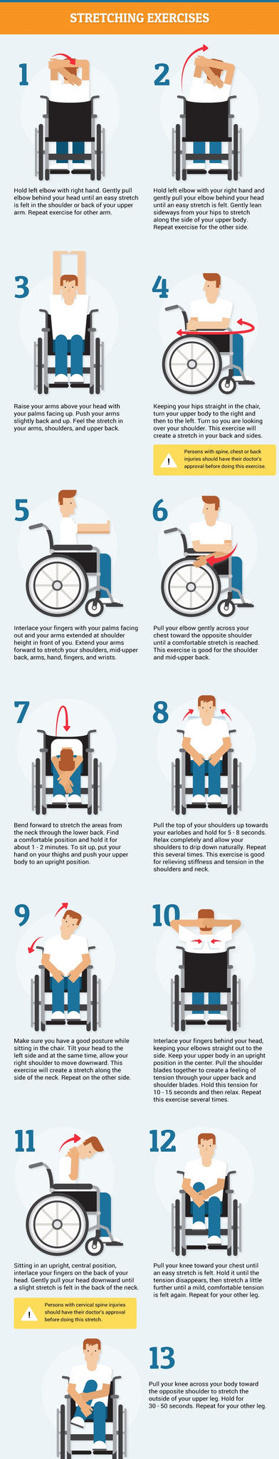 wheelchair exercises breeze mobility