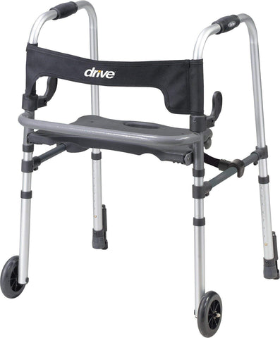 "Drive - LS Clever-Lite 5"" Wheeled Walker / Rollator"