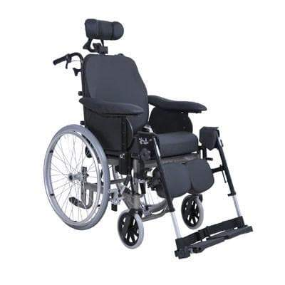 IDSOFT Tilt-Recline Wheelchair -Self Propelled Wheels, Breeze Mobility