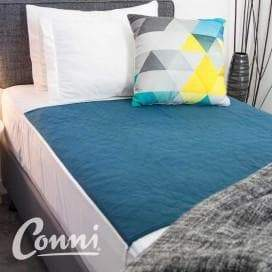 CONNI Bed Pad Sheet with Tuck Ins 1m x 1m Waterproof, Breeze Mobility